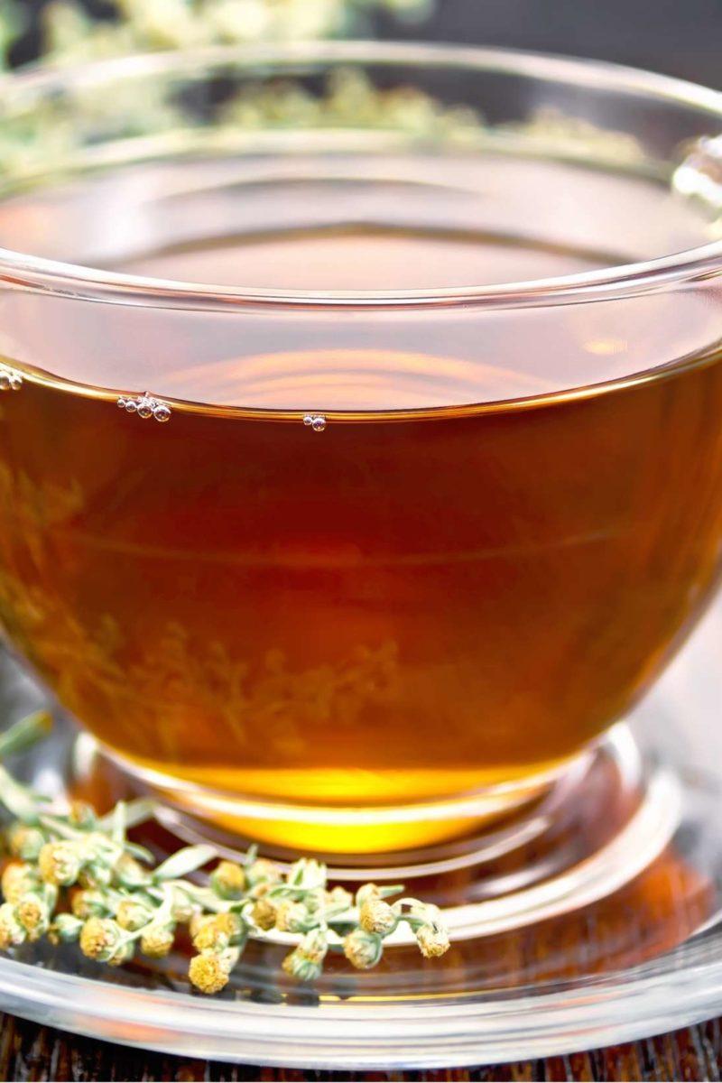 pinworm tea