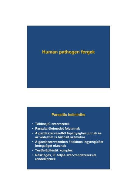 a paraziták májbetegséget okoznak