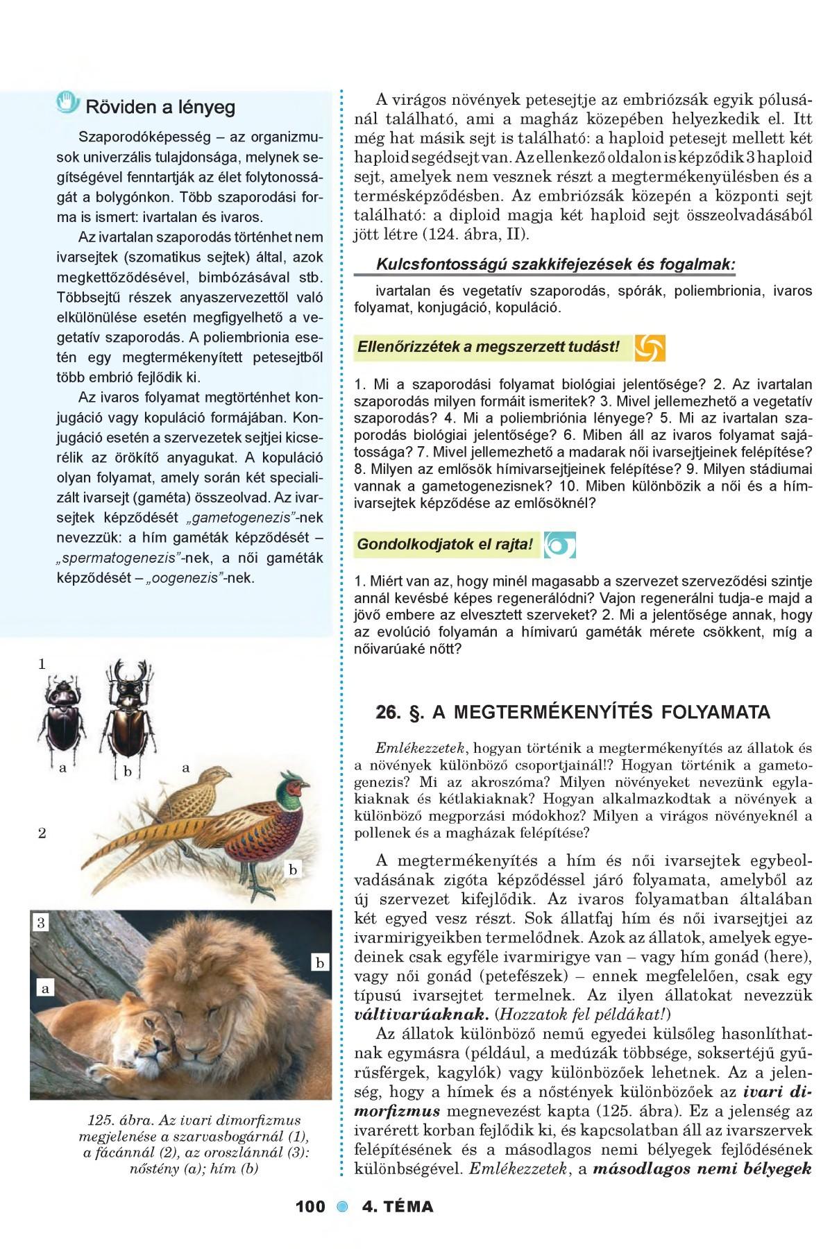 a petesejt és a paraziták kezelése)