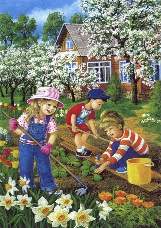 Ovi-és sulikert - Panelok között is kertészkedhetnek a gyerekek – Modern Iskola