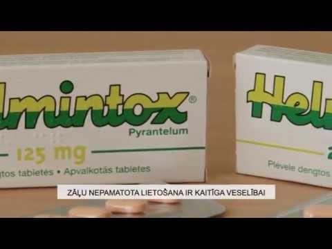 helmintox pyrantelum