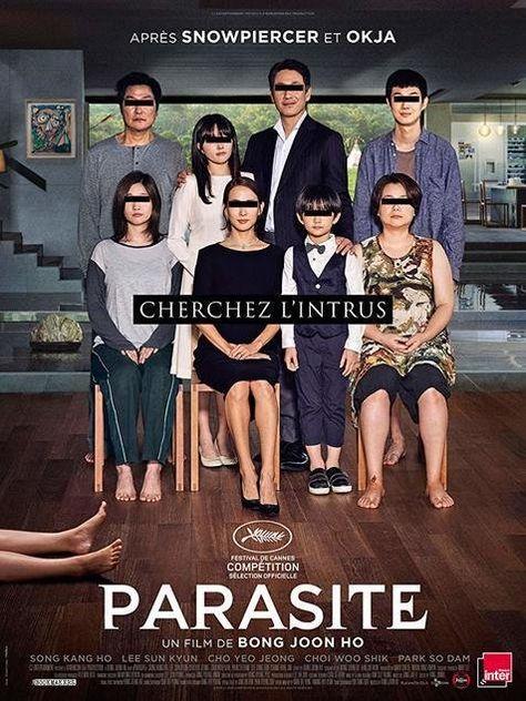 paraziták thriller