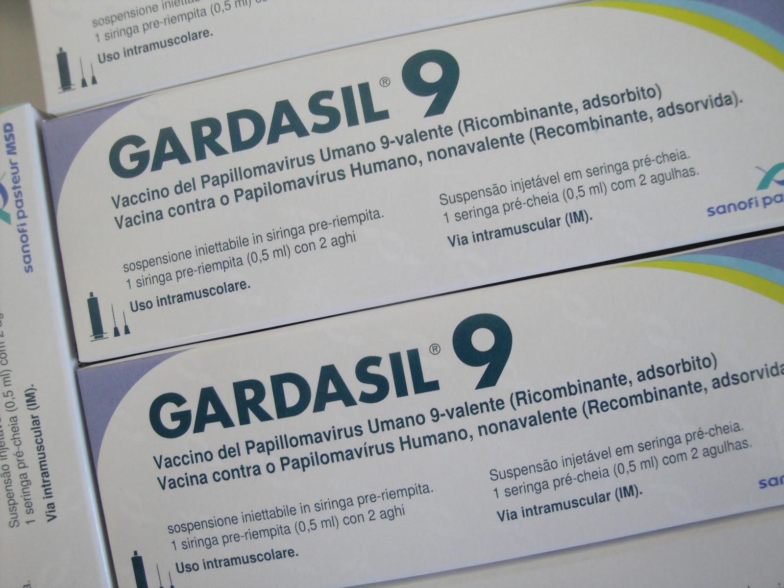 hpv vakcina gardasil 9 pris