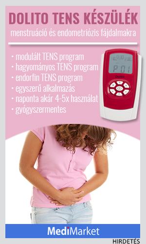 férgek a menstruációs kezelés során