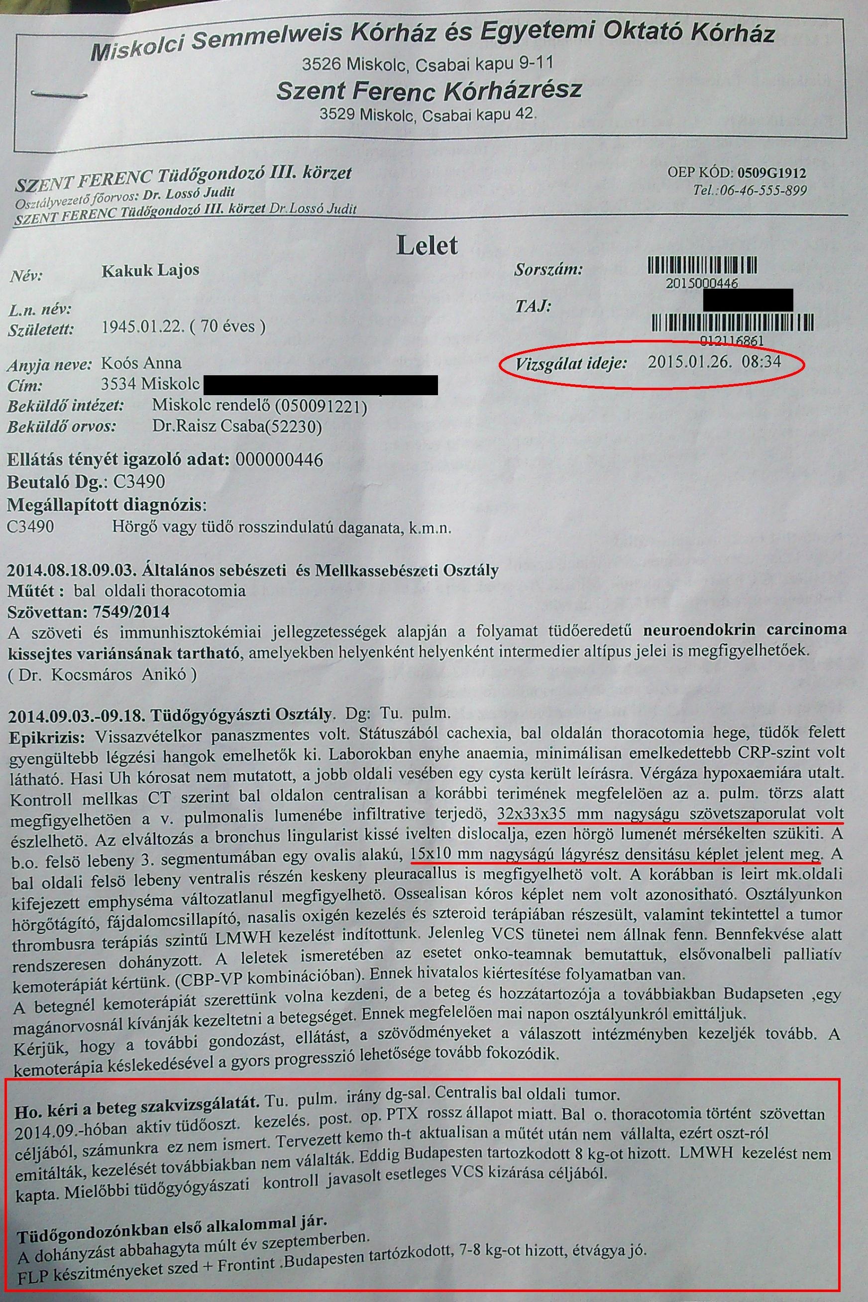 neuroendokrin rák típusa)
