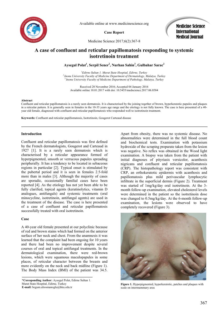 papillomatosis dermatosis)
