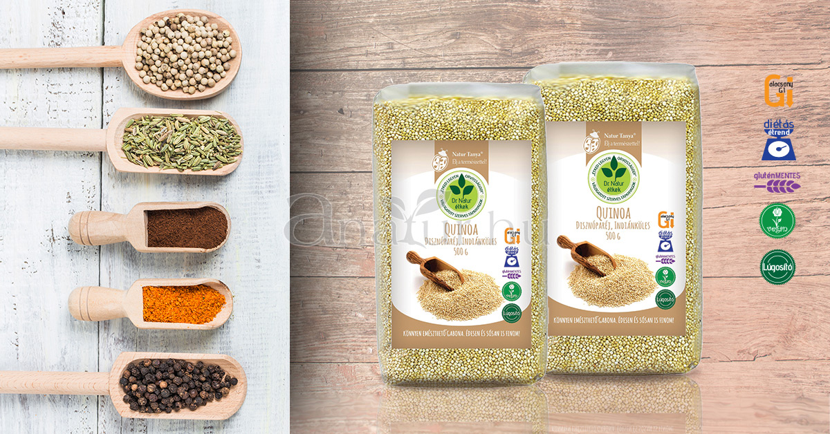hasmenés és quinoa)