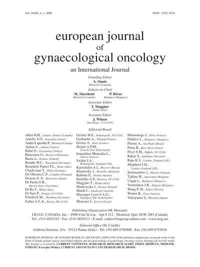 hpv endometrium rák)