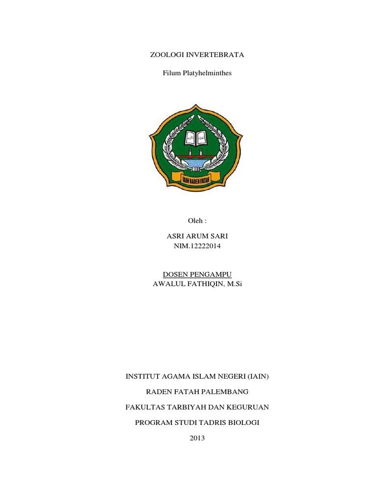 laporan practicum platyhelminthes planaria