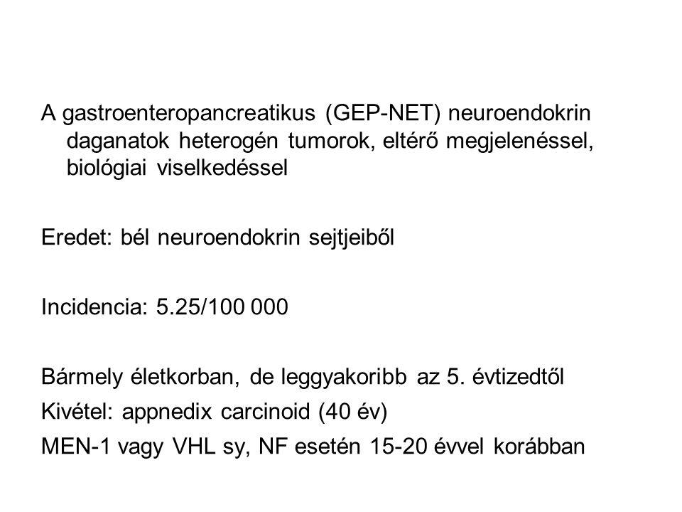 neuroendokrin vastagbélrák)
